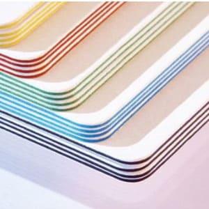 tarjetas bordes colores