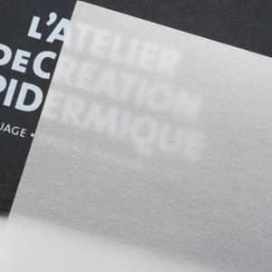 impresion tarjetas papel calco